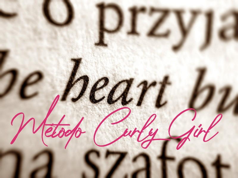 Diccionario de términos Método Curly Girl