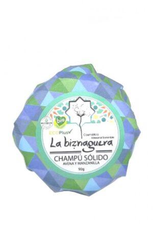La Biznaguera Champú Sólido Avena y Manzanilla